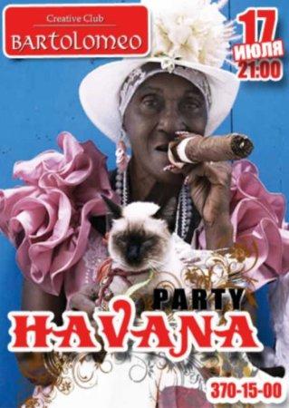 17 июля, Havana party, Bartolomeo