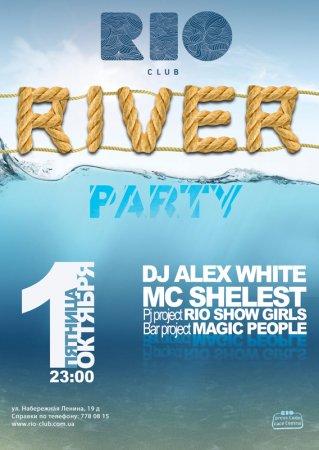 1 октября, RIO RIVER PARTY, Rio the club