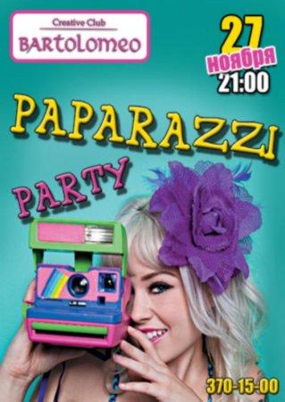 27 ноября, Paparazzi party, Bartolomeo