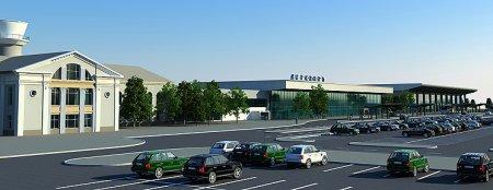 В Днепропетровском аэропорту строят новый терминал