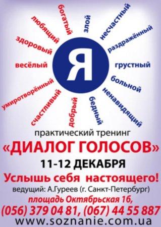 11 - 12 декабря, Практический тренинг Диалог голосов