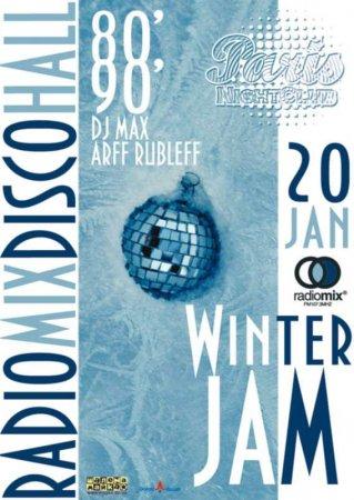 20 января, RadioMix Disco Hall (Vol60): Winter Jam
