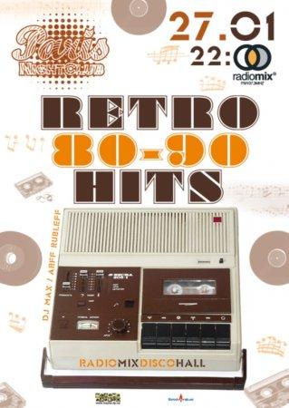 27 января, RADIOMIX DISCO HALL (Vol61): RETRO HITS