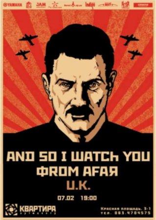 7 февраля, And So I Watch You From Afar в арт-центре Квартира