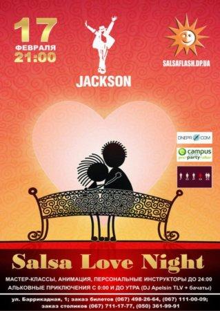 17 февраля, Salsa Love Night, Джексон