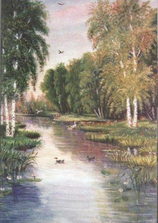До 18 апреля, Відкриття виставки картин Мельника В. А. Крик