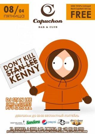 8 апреля, Dont kill Kenny @ Capuchon Club