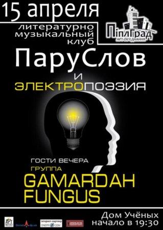 15 апреля, ПаруСлов и электропоэзия, Дом ученых