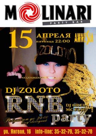 15 апреля, RNB party, Молинари (Molinari)
