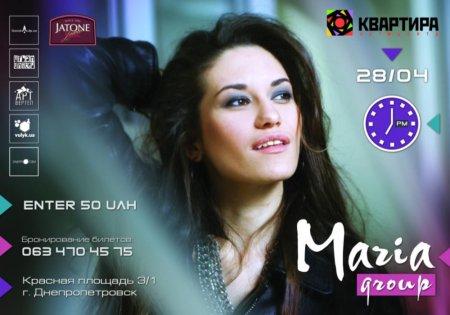 28 апреля, MARIA Group в арт-центре КВАРТИРА