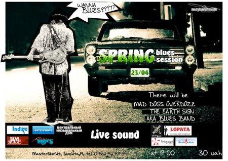 23 апреля, Spring Blues Session, Мастер Шмидт (Master Shmidt)