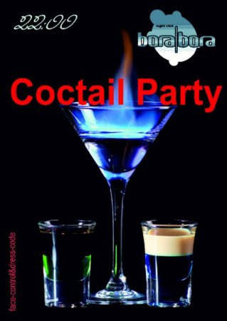 10 мая, Coctail Party, Night Club Bora Bora