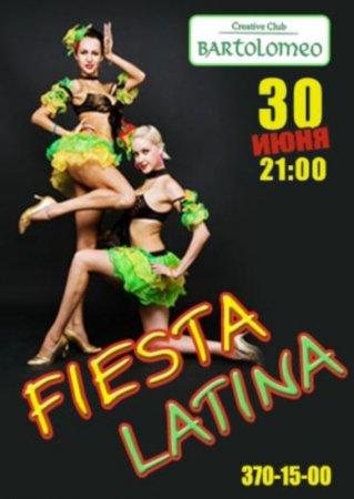 30 июня, Fiesta Latina, Bartolomeo