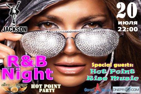 20 июля - R&B Night в Jackson club