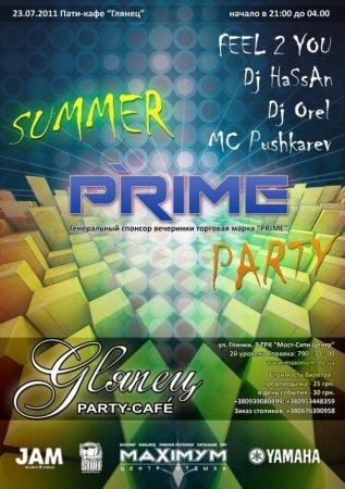 27 июля, Summer PRIME-Party @ Glyanec