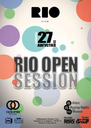 27 августа, Rio Open Session, Рио (The Rio Club)