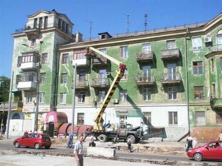 Улицу Шмидта украсят разноцветные дома