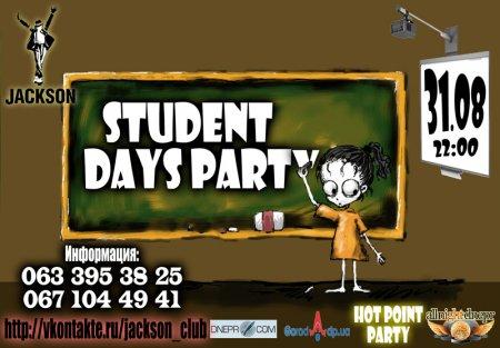31 августа, Student Days Party, Джексон Найт Клаб