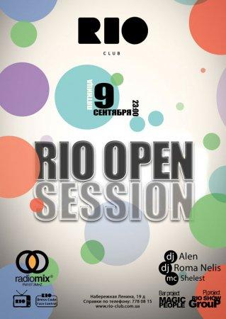 9 сентября, Rio Open Session, Рио (The Rio Club)