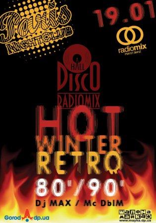 19 января, RadioMix Disco Hall (Vol110): Hot Winter Retro