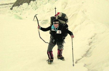 Погибла днепропетровская альпинистка Мария Хитрикова