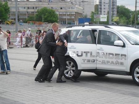 В Днепропетровске определяли лучших телохранителей страны