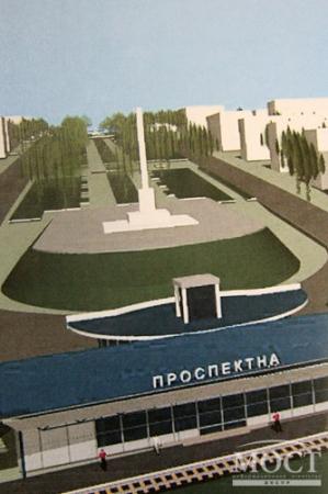 Разработано 3 проекта транспортной развязки в центре Днепропетровска