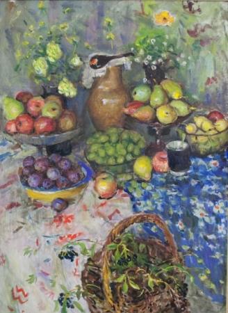 Выставка картин Леонида Кудрявцева