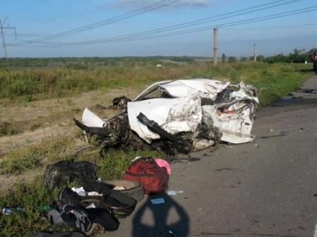 ДТП на трассе в Днепропетровской области