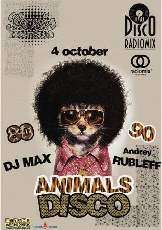 4 октября, RadioMix Disco Hall (Vol144): Animals Disco