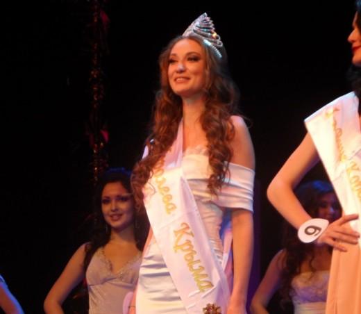 Мисс Крым-2013 потеряла титул со скандалом