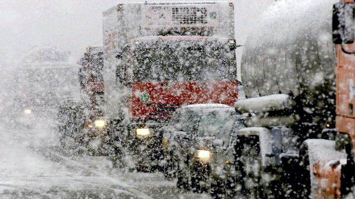 ГАИ ограничила движение на дорогах Запада Украины (Список)