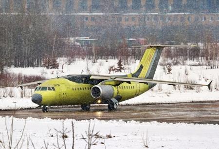 В украинское небо поднялся первый серийный реактивный самолет АН-158