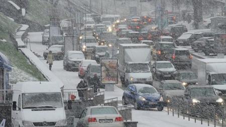 В ГАИ утверждают, что водители сами виноваты в пробках на дорогах Киева