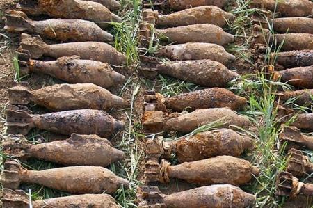 На Днепропетровщине пастух нашел 40 боеприпасов времен войны