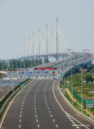 Длина имеет значение: Открыт самый большой мост в мире