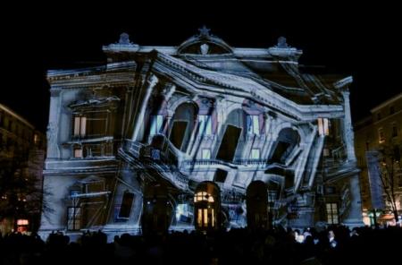 В Киеве показали эксклюзивное 3D-шоу