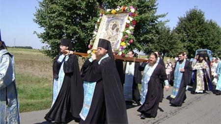 На украино-российской границе отпраздновали 1025-летие Крещения Руси