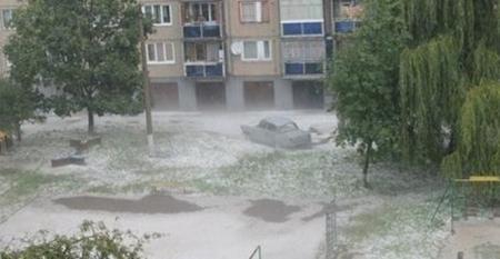 Ивано-Франковск мгновенно оказался под коркой льда