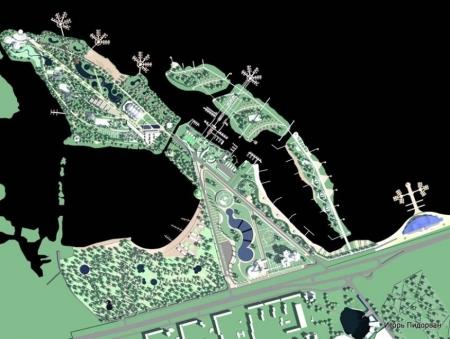 Каким будет аквапарк на Красном Камне: фото и видео
