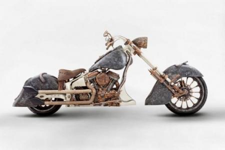 Турок построил самый дорогой в мире мотоцикл