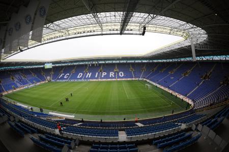 На Днепр-Арене не будет матча плей-офф