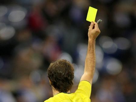 Желтые карточки перед игрой с Францией не аннулированы