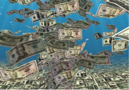 Днепропетровский фальшивомонетчик наводнял долларами банки