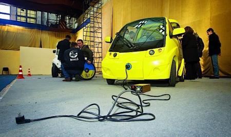 На дорогах Украины появятся отечественные электромобили