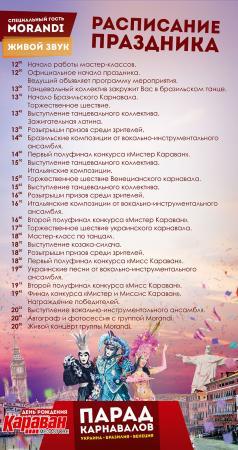 Грандиозное празднование 7-летия ТРЦ «Караван»!