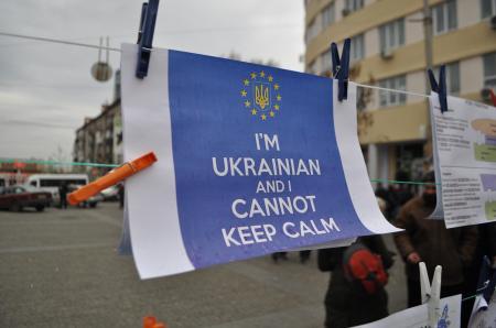 Евромайдан в Днепропетровске состоялся (Фото)