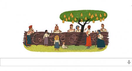 Google отмечает день рождения украинского писателя Нечуй-Левицкого