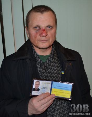 Титушки избили желающих ехать в Киев на Евромайдан (ФОТО) (ВИДЕО)
