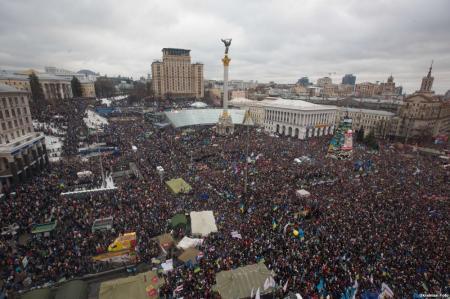 Евромайдан арендовал себе еще один дом и расширится